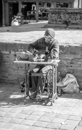 People_of_Nepal-bw12